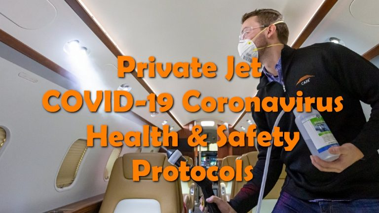 Private Jet COVID-19 Coronavirus Health & Safety Protocols