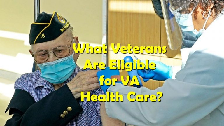 What Veterans Are Eligible for VA Health Care?