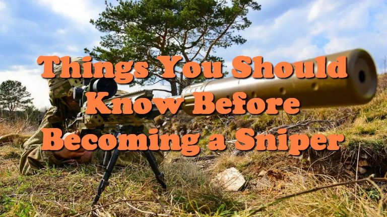 Things You Should Know Before Becoming a Sniper